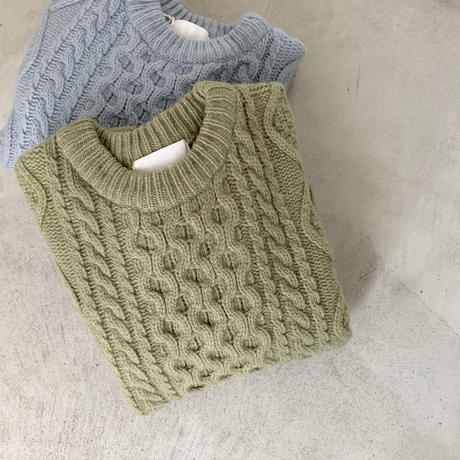 spring color knit [TOP20AW252]