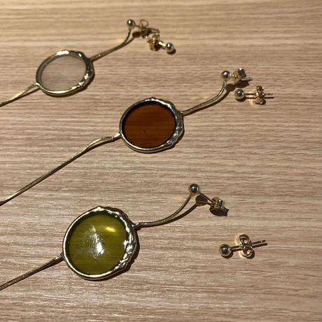 asymmetry color pierce (3color)
