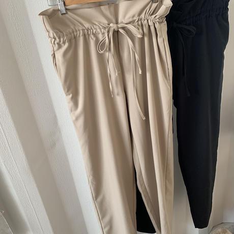 gather ribbon pants (2color)[BT20SS389]
