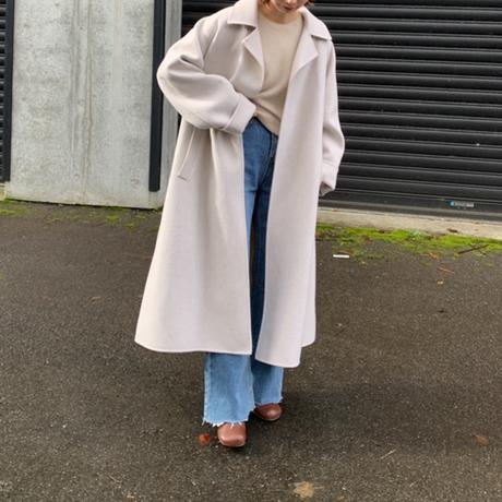belt long coat[OU20AW565]
