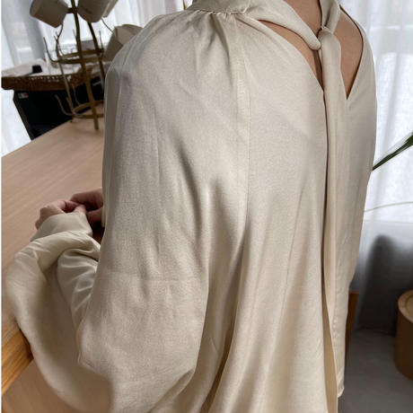 gather blouse (2color) [TOP20AW602]
