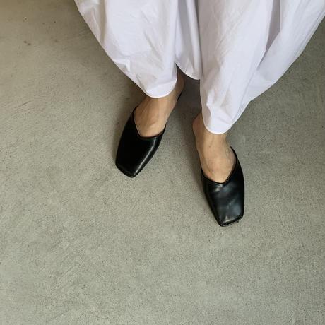 toe stitch slipper  (2color)