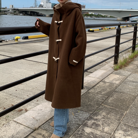 handmade wool duffle coat (2color)[OU20AW473]