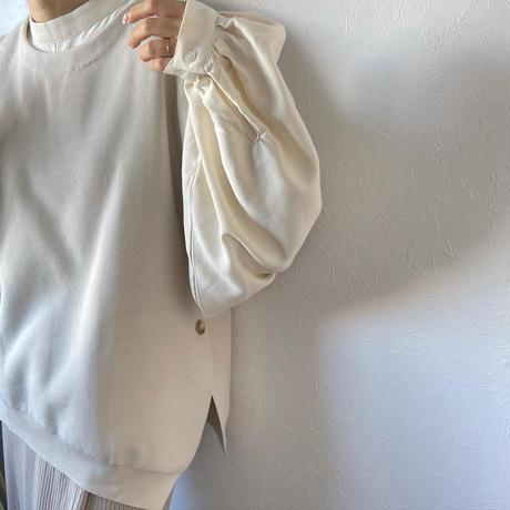 asymmetry knit vest (3color)[TOP20AW600]