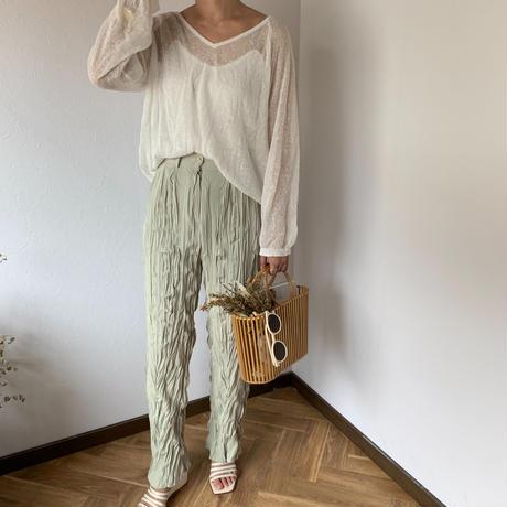 wrinkles pants (3color)[BT20SS386]