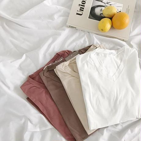 earth color relax t-shirt (4color)