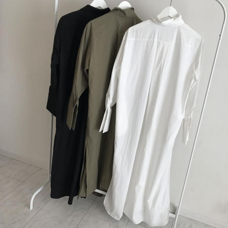 long shirt onepiece (3color)