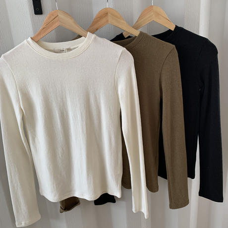 simple roundneck t-shirt (3color) [TOP20SS279]