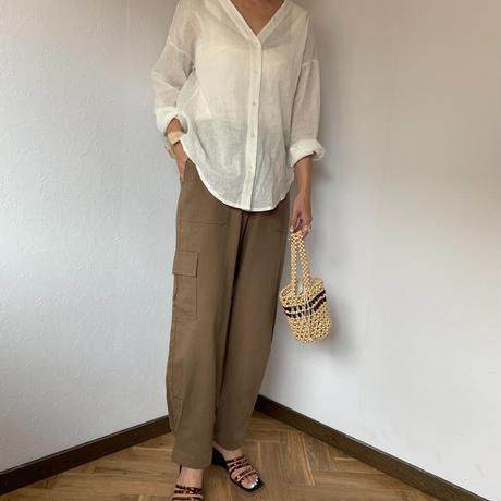 linen work pants (3color)[BT20SS410]