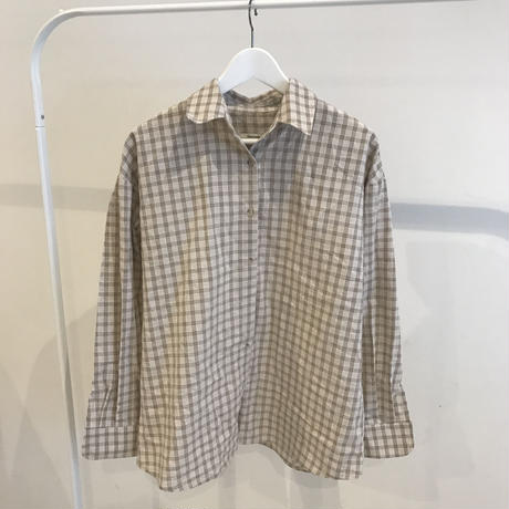 nuance check shirt