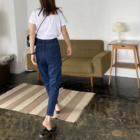 [original] organic cotton denim  pants [FLEN-08]