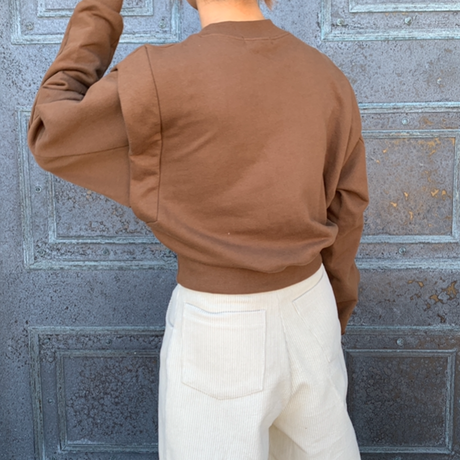 sleeve switching sweat [TOP20AW541]