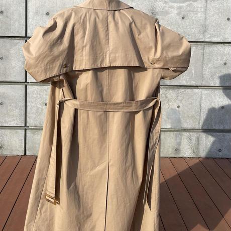 backschön stand fall collar coat [OU20AW601]