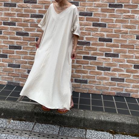 2way linen blend  one-piece(2color) [OP21SS754]