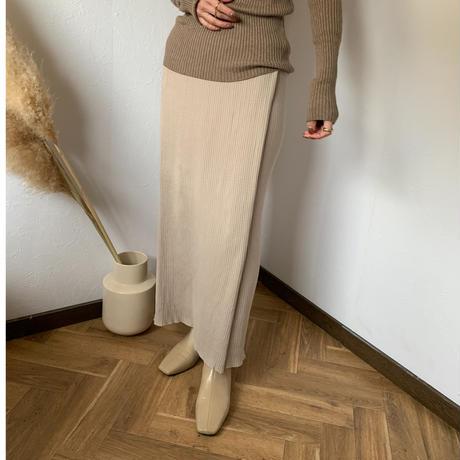 lap rib skirt (3color)[BT20AW578]