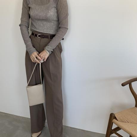 wide high-waist pants (3color)[BT20SS328]