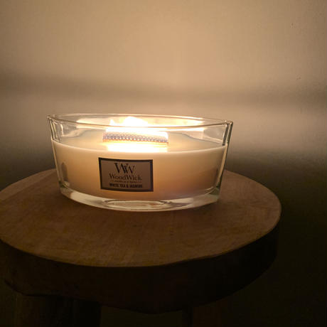 Wood Wick candle (2type)