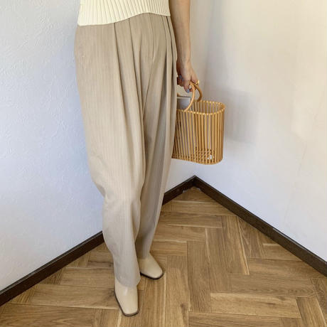 stripe slacks pants (2color)[BT20SS367]