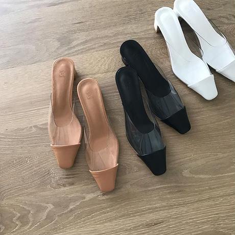 toe cap pvc sandal (3color)