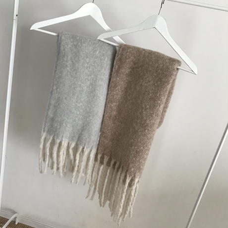 fringe stole (2color)