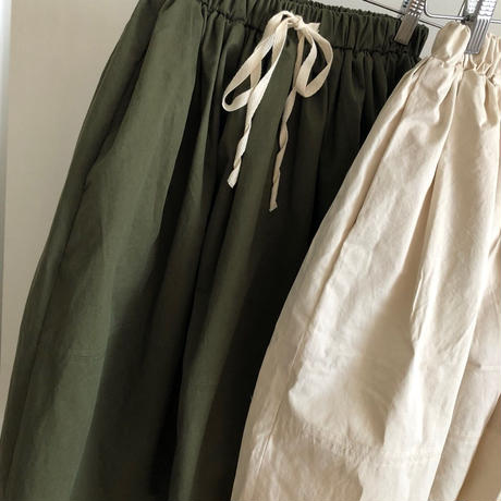 military volume skirt (2color)