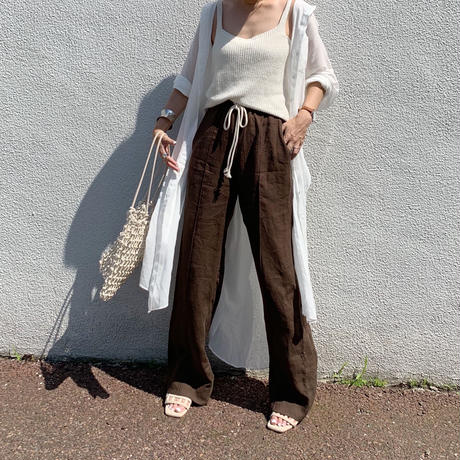 center press linen pants (3color)