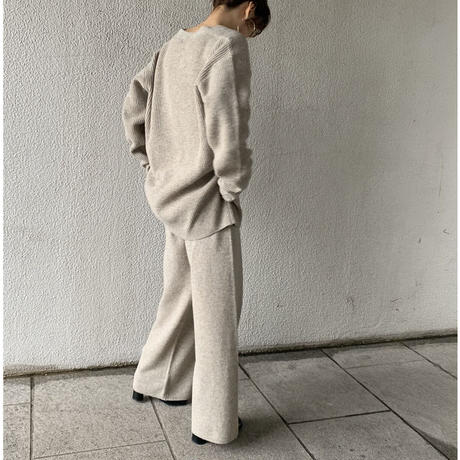 melange knit pants (2color)[BT20AW550]