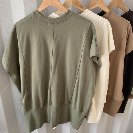 oversize sweat best [TOP19AW0134]