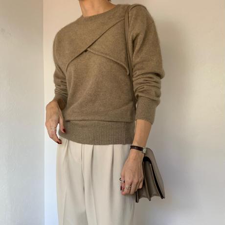 mohair knit ensemble [TOP20AW510]