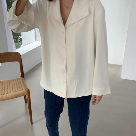 big collar blouse [TOP20AW518]