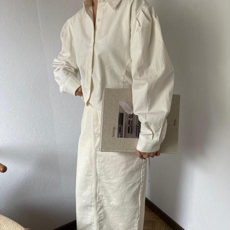 volume  sleeve corset shirt[TOP20AW601]