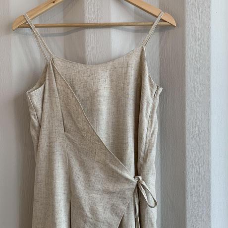 apron design one-piece [OP20AW591]
