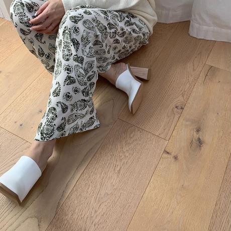 chunky sabo sandal  (3color) [TOP20SS301]
