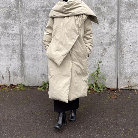 muffler set down coat (2color)[OU20AW585]