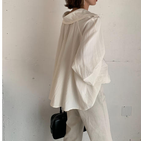 2way flare blous[TOP21SS662]