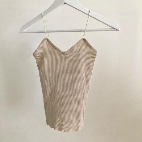 rib knit camisole (5color)