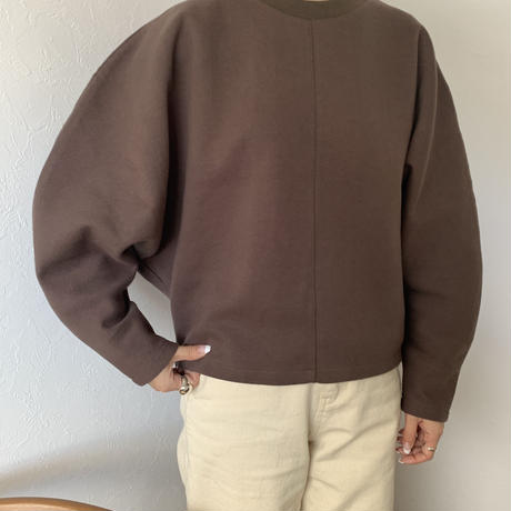 curve sleeve sweat tops (3color)[TOP20AW570]