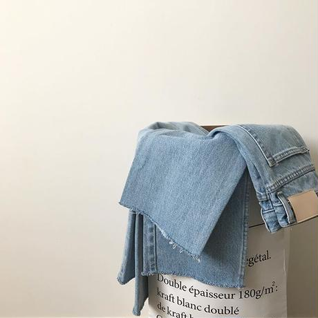 cutoff denim pants (3size)