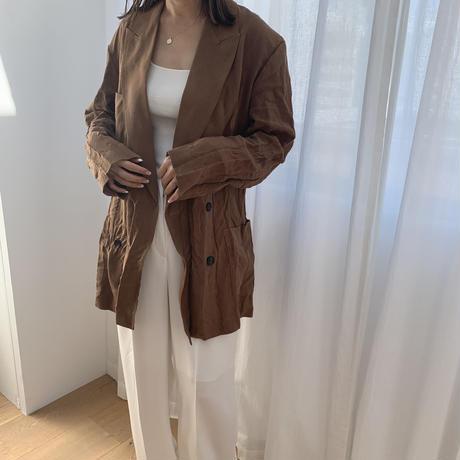 Wrinkle design jacket(2color) [OU20SS316]