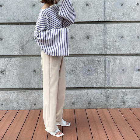 waffle border tops (2color)[TOP21SS671]