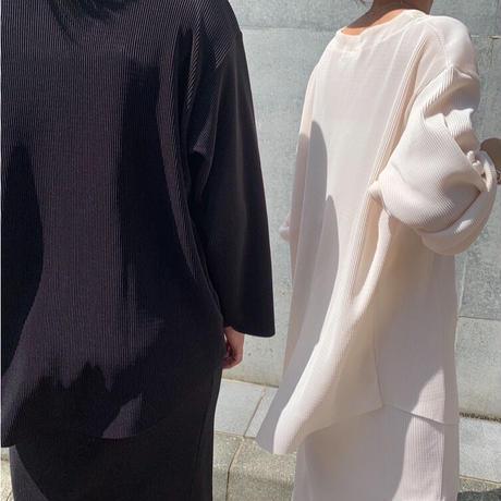 rib skirt setup (3color)[OP21SS753]