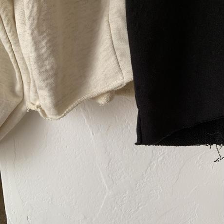 balloon sleeve short sweat (2color)