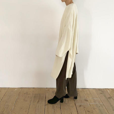 deformation knit cardigan [TOP19AW0095]