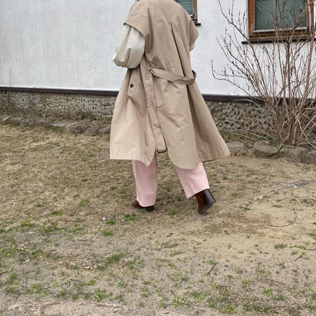 trench long vest[OU21SS642]