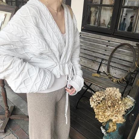 mulch cable knit cardigan (2color) [TOP19SS-0028]