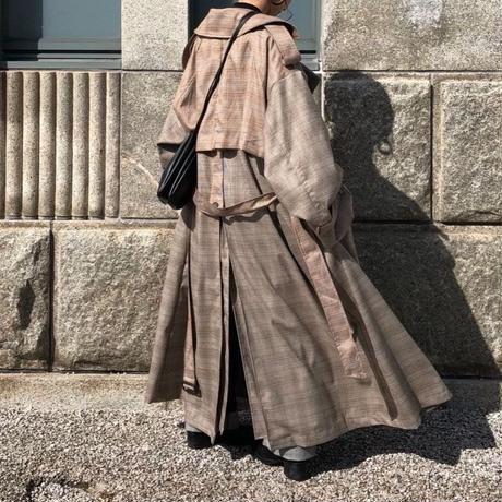 oversize  trench coat (2color) [OU18AW-0005]