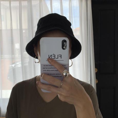 bucket hat (3color)