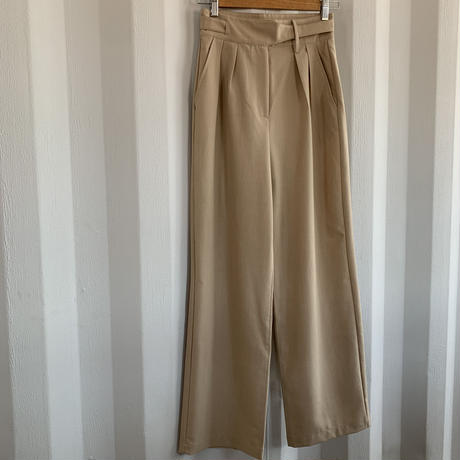 waste belt design pants [BT20SS436]