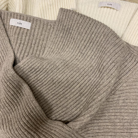 cross knit tops (2color)[ TOP20AW529]