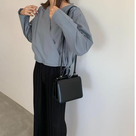 cache-coeur blouse (2color) [TOP20SS322]